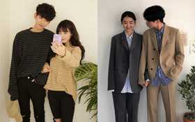 """7 công thức """"đẹp đừng hỏi"""" mà lại dễ áp dụng giúp bạn diện đồ đôi với nửa kia chất như giới trẻ Hàn Quốc"""
