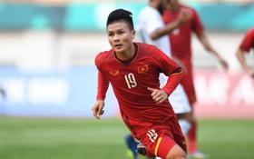 TRỰC TIẾP (H1) Olympic Việt Nam 0-0 Olympic Nepal: Hậu vệ Olympic Nepal cản phá trên vạch vôi
