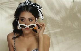 """""""Kiều nữ làng hài"""" Nam Thư tuyên bố tài trợ tiền cho antifan can đảm dám chụp ảnh bikini sexy như mình!"""