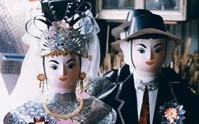 """Thủ phủ vàng mã lớn nhất Hà Nội bán """"cô dâu, chú rể"""" và cả """"osin"""" cao cấp để đốt cho người cõi âm"""