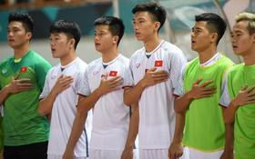 Cờ Tổ quốc song hành cùng Olympic Việt Nam