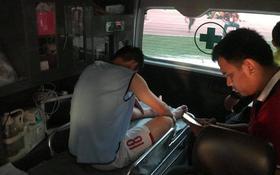 Sao Olympic Việt Nam chấn thương, nhập viện khẩn sau trận thắng Nhật Bản