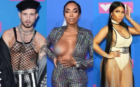 """Những màn khoe thân """"gây nhức mắt"""" nhất thảm đỏ MTV VMAs: Từ sao nổi tiếng đến vô danh đều bị chê phản cảm"""