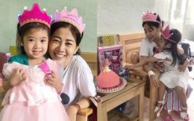 Mai Phương cười tươi rạng rỡ, cùng bạn bè người thân tổ chức tiệc sinh nhật cho con gái tại bệnh viện