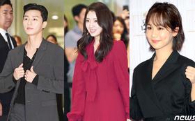 """Park Shin Hye trở lại đẹp rạng rỡ bên nữ chính """"Hương Mật Tựa Khói Sương"""", Park Seo Joon lịch lãm tại sự kiện"""