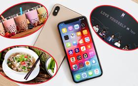 Cả iPhone Xs thu lại vừa bằng bao nhiêu bát phở, bao nhiêu cốc trà sữa và album của BTS?