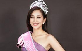 Tân Hoa hậu Việt Nam 2018 Trần Tiểu Vy thẳng thắn trả lời về bảng điểm không đẹp