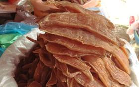 Món ăn có cái tên dễ gây hiểu lầm: khoai deo - nhai muốn gãy răng và là niềm tự hào của người dân Quảng Bình