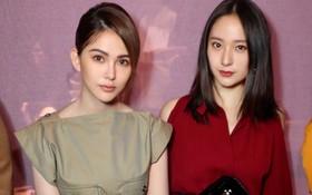 Sau khi bị chê già liên tiếp, Krystal chọn đồ đỏ nổi bật, lấn át Côn Lăng tại Milan Fashion Week
