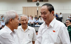TP HCM: Lễ viếng Chủ tịch nước Trần Đại Quang lúc 7 giờ ngày 26-9