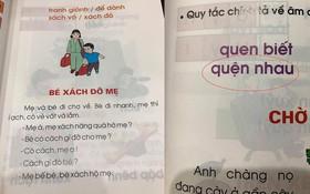 """Phụ huynh lo ngại trước bộ sách Tiếng Việt lớp 1: """"Các thành ngữ đều nặng nề, bài đọc thì xỉa xói nhiều hơn là giáo dục"""""""