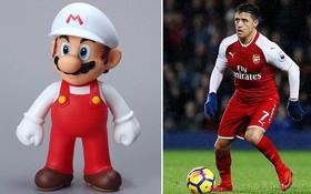 Trang phục quần đỏ của Arsenal bị so sánh với... Super Mario