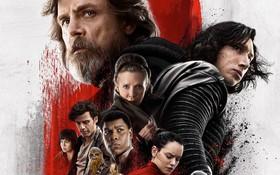 """Phòng vé cuối năm 2017: """"Star Wars: The Last Jedi"""" vinh dự chạm mốc 1 tỉ đô toàn cầu"""