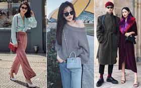 """Giao điểm 2017-2018: Sao Việt ăn mặc đơn giản thoải mái, các hot girl thì vẫn """"lên đồ"""" chất lừ!"""