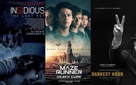 Tháng 1: Đại tiệc phim ảnh được đảm bảo cả về lượng lẫn chất