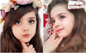 Thiên thần nhỏ người Iran khiến cư dân mạng Trung Quốc sửng sốt vì giống mỹ nữ Tân Cương Địch Lệ Nhiệt Ba