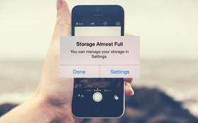 iPhone liên tục báo đầy bộ nhớ: Nguyên nhân và cách khắc phục từ A-Z