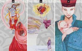 Nhắm mắt lại và bốc một lá bài Tarot Thiền, bạn sẽ tìm được phương hướng phát triển bản thân