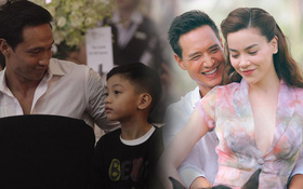Kim Lý sau khi yêu Hà Hồ: Chẳng đứng gần chụp ảnh cùng bất cứ mỹ nhân Vbiz nào, chỉ sát cánh bên hai mẹ con Subeo