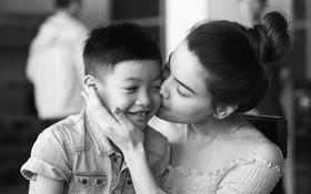 Lời tâm tình cực ngọt ngào của bé Subeo dành cho Hà Hồ đang được dân mạng thích thú chia sẻ