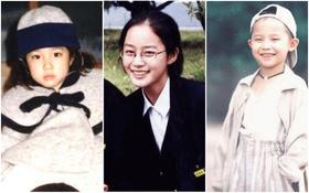 Nhìn hình hồi còn nhỏ, đố bạn đoán ra đây là 8 sao Hàn nào?