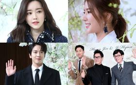 """Đám cưới hội tụ toàn sao khủng: Lee Kwang Soo bỗng điển trai, """"Phạm Băng Băng Hàn Quốc"""" bị mỹ nhân vô danh đè bẹp"""