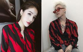"""Kỳ Duyên và Sơn Tùng vừa có màn đụng hàng """"bất chấp giới tính"""" khi cùng diện một mẫu áo dành cho nữ"""