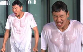 Hiếm lắm mới được chiêm ngưỡng Lee Kwang Soo vô tình lộ cơ bụng và ngực sexy như tượng tạc