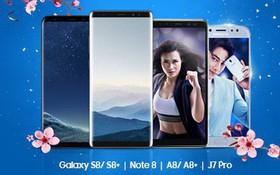 Mua smartphone Samsung trợ giá khủng lên đến 11 triệu đồng