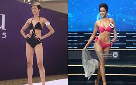Body của H'Hen Niê từ Next Top đến Hoa hậu: Dậy thì thành công!
