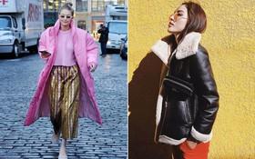 """Cùng mặc áo to sụ thùng thình, thế mà Kỳ Duyên và Gigi Hadid vẫn """"cool"""" hết phần người khác!"""
