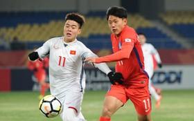 Việt Nam thua ngược Hàn Quốc ở trận ra quân U23 châu Á