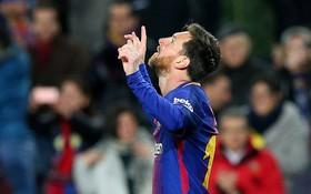 """Messi lập cú đúp, Barca giành chiến thắng """"5 sao"""""""
