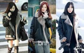 """3 thành viên SNSD diện áo y chang nhau, fan hài hước kết luận """"3 người mua 1 chiếc mặc chung cho tiết kiệm"""""""