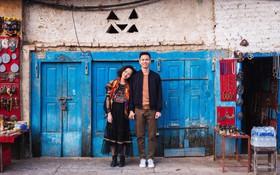"""Bộ ảnh cưới """"không bình thường chút nào"""" ở Nepal của cựu CEO Uber Việt Nam"""