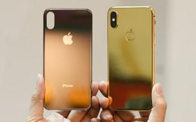 Đây là một chiếc iPhone X mạ vàng tại Việt Nam, đằng sau vẻ đẹp là sự đánh đổi