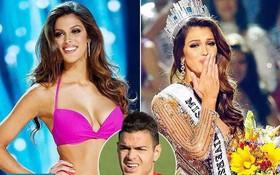 """Hoa hậu Hoàn vũ 2016 dính """"lưới tình"""" của sao tuyển Pháp"""
