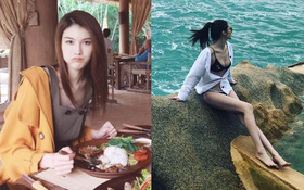 Chân dài Victoria's Secret đình đám Sui He bất ngờ khoe loạt ảnh gợi cảm tại Nha Trang