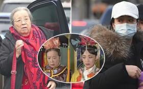 """""""Dung Ma Ma"""" tái ngộ """"Hoàng hậu"""" sau 20 năm """"Hoàn Châu Cách Cách"""", Giả Nãi Lượng mệt mỏi và xuống sắc tại buổi tập"""
