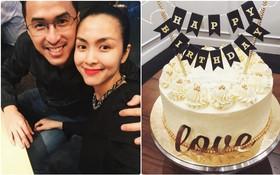 Tăng Thanh Hà đích thân làm bánh tặng ông xã Louis Nguyễn nhân ngày sinh nhật