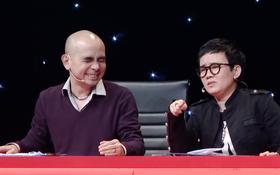 Clip: Đức Trí phản ứng thế nào khi liên tục bị đồng nghiệp nhắc đến Hồ Ngọc Hà trên sóng truyền hình?