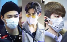 GOT7 tại sân bay Hàn sang Việt Nam: Bambam sành điệu, JB và Jinyoung bịt khẩu trang vẫn điển trai khó cưỡng