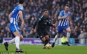 Hazard lập cú đúp giúp Chelsea hạ Brighton 4 bàn không gỡ