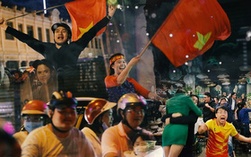 """Địa chấn U23 Việt Nam: Những khoảnh khắc ăn mừng """"độc để đời"""" của người hâm mộ"""