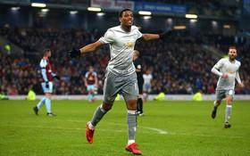 Martial ghi bàn duy nhất, Man Utd nhọc nhằn giành 3 điểm trước Burnley