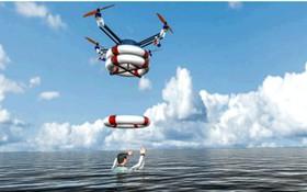 Drone không chỉ quay phim, chở hàng mà giờ đây còn cứu được cả con người