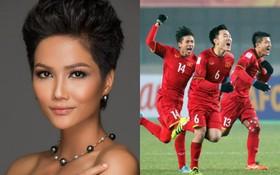 Clip: Lời chúc đặc biệt từ Hoa hậu Hoàn vũ H'hen Niê tới U23 Việt Nam trước giờ bán kết