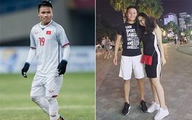 Chàng cầu thủ ghi 2 bàn cho U23 không chỉ là người hùng sân cỏ mà ngoài đời còn là soái ca chăm diện đồ đôi với bạn gái