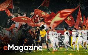 10 năm rồi, cái cảm giác rực lửa tự hào, rực cờ hoa chiến thắng bóng đá mới được tái hiện lại bởi U23...