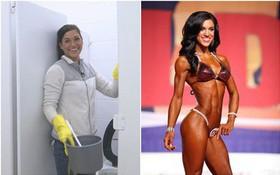 """Từ một cô lao công dọn nhà vệ sinh đến huấn luyện viên thể hình """"đẹp miễn chê"""", cô gái này chính là tấm gương sáng cho chị em"""